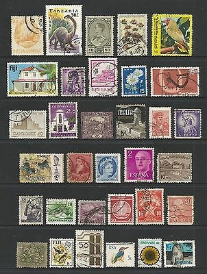 WORLD STAMPS - mixed collection, Lot No.75, all different