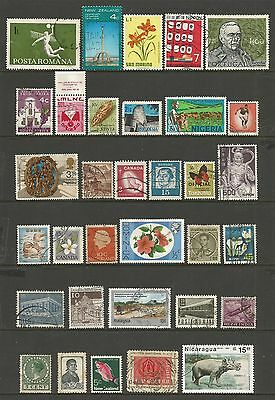 WORLD STAMPS - mixed collection, Lot No.76, all different