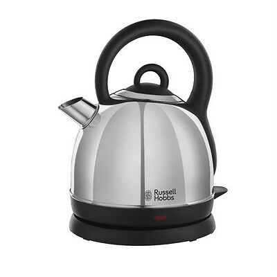 Russell Hobbs 19191 Cordless Dome Kettle, 1.8L, 3000W - Stainless Steel