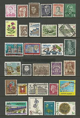 WORLD STAMPS - mixed collection, Lot No.84, all different