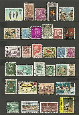 WORLD STAMPS - mixed collection, Lot No.85, all different
