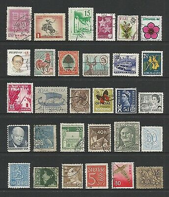WORLD STAMPS - mixed collection, Lot No.90, all different