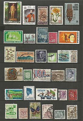 WORLD STAMPS - mixed collection, Lot No.91, all different