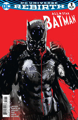 All-Star Batman #1 Variant Cover by Jock DC Rebirth