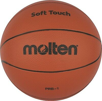 50x Molten Softball PRB-1 Basketball Kinder Spielball Gummi