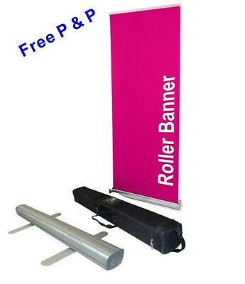 800 x 2000mm Cheapest Roller Banner Pop Up /Pull up Exhibition Display Stand