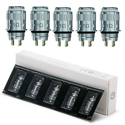 Pack of 5 Joyetech eGos ONE CT Coils, CL 1.0 ohm Atomizer Heads Free Shipping