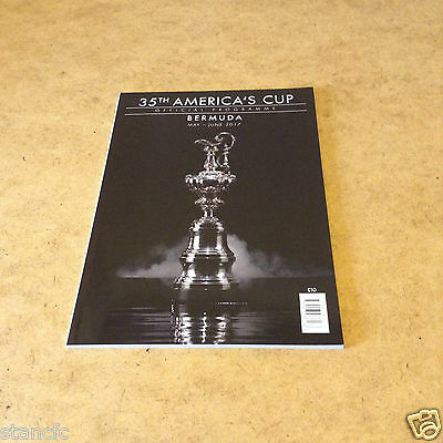 35th AMERICA'S CUP OFFICIAL PROGRAMME BERMUDA MAY - JUNE 2017 BRAND NEW UNREAD
