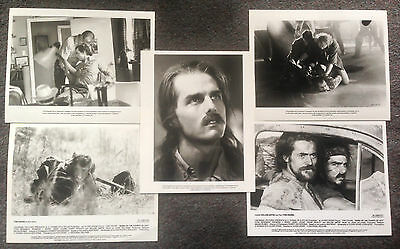 LOT OF 5 ORIGINAL PRESS PHOTOS BORN ON THE FOURTH OF JULY Tom Cruise