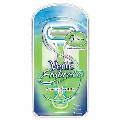 Gillette Venus Embrace Women's 5-Blade Razor with 1 Razor - Smoother for Longer