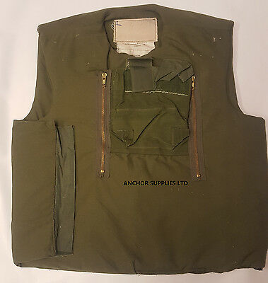 Ex British Army MK2 Body Armour AKA INIBA Northern Ireland Armour 40''-42''