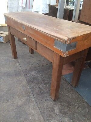 Mid c.20th French Chopping/Butchers Block on Stand