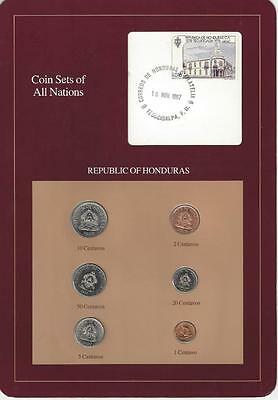 Coin Sets of All Nations, Honduras