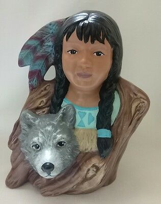 Native American Indian Wold Princess Hand Made In Australia