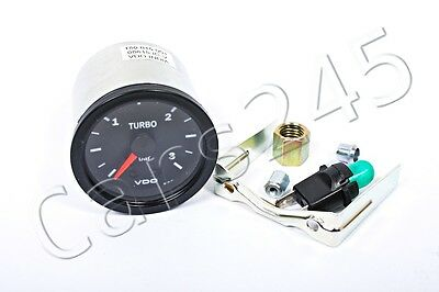 VDO Vision Mechanical Turbo Boost Gauge 3 BAR 52mm 12V with Illumination