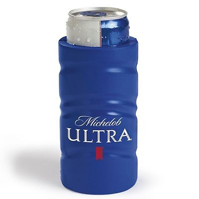 New AUTHENTIC Michelob Ultra SLIM Golf Beer Can Koozie Coozie Coolie Bud Light