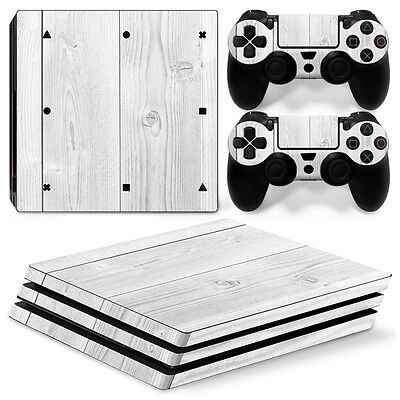 WOOD DESIGN SKIN For playstation PS4 PRO Pro Stickers & 2