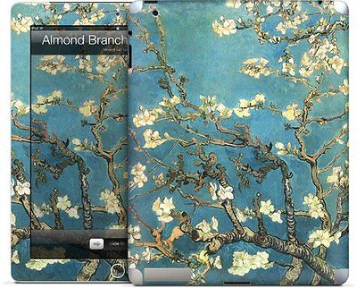 """GelaSkins Protective Skin for Apple iPad 2 - """"Almond Branches"""""""