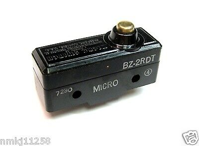New Micro Switch Bz-2Rdt Honeywell Microswitch Push Button Power Switch 15A/125
