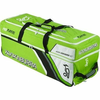 2016 Kookaburra Pro Players Blue Wheelie Cricket Bag