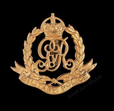 Great War GVR Military Police Cap Badge (defective)