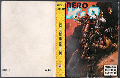 ALBUM NERO KID n°20 ¤ avec n°77-78-79-80 ¤ 1979 IMPERIA