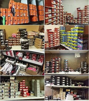 Brand Name Shoes Closeout Deal *men,women & Kids *mix Size & Style *800 Pairs!!!