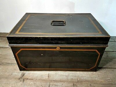 Large Vintage Deed / Document Box