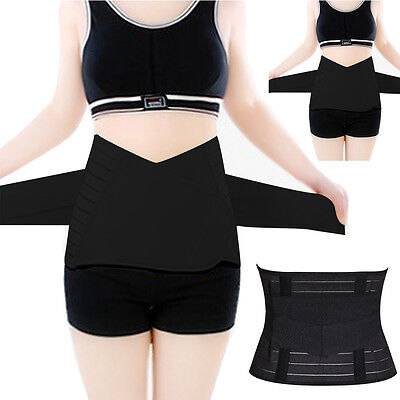 Postpartum Corset Recovery Tummy Belly Waist support Belt Shaper Slim Body UK