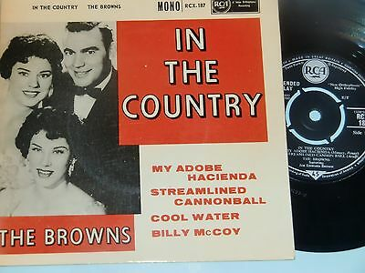 The Browns. In The Country. Rca Rcx-187 (A Very Hard To Find Ep).