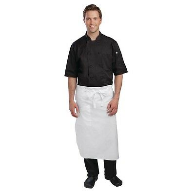 Executive Chefs Tapered Aprons - White or Black