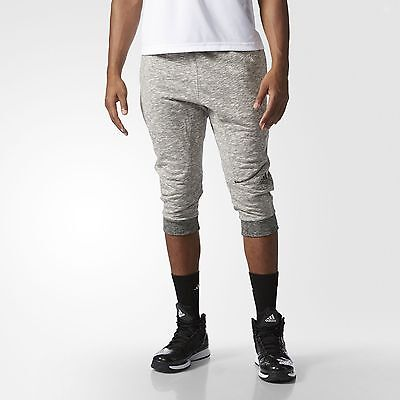 adidas Cross-Up Three-Quarter Pants Men's White
