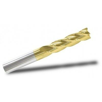 1/4 inch end mill, 4-flute, Single End, X/Long length, Square end