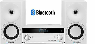 Blaupunkt MS30BT Edition Radio CD USB MP3 Bluetooth Compact Stereo System White