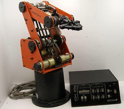 Eshed Robotec Scorbot ER-III Robotic Arm With Controller **SEE VIDEO**