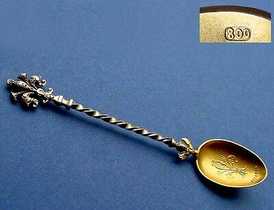 Collectible Spoon/ Souvenir Spoon, Florence, 800 Silver B553