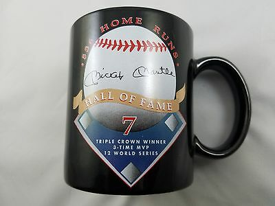 Vintage Collectible Mickey Mantle Hall Of Fame -536 Home Runs- Commemorative Cup