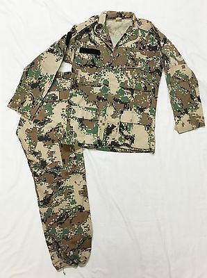 Desert Digital Camo Camouflage Jackets & Pants Set South American Military Army