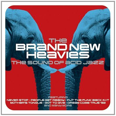 The Brand New Heavies - The Sound Of Acid Jazz (2CD 2014) NEW/SEALED
