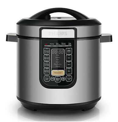 NEW Phillips - HD2137/72 - All-In-One Cooker from Bing Lee