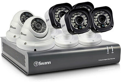 NEW Swann - SWDVK-8720T4D2 - 8CH* DVR Security System - 1TB HDD from Bing Lee