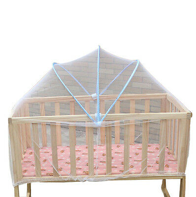 Baby Toddlers Mosquito Net Crib Bassinet Bed Canopy Bug Fly Bites Protection