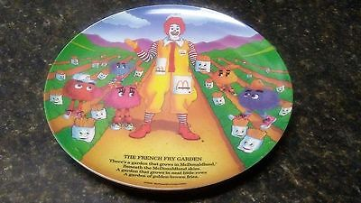 McDonalds 1989 Vintage RONALD MCDONALD Melamine Plate The French Fry Garden
