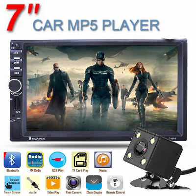 "7"" inch Touch Screen HD In-dash Car GPS Bluetooth Stereo MP3 MP5 Player FM Radio"