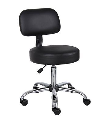 Stool With Wheels Drafting Swivel Office Chairs Without Arms Medical Dr Spa Back