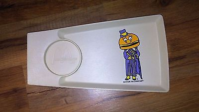1970's Vintage Mcdonald'S Happy Meal Tray With Cup Holder - Mayor Mccheese