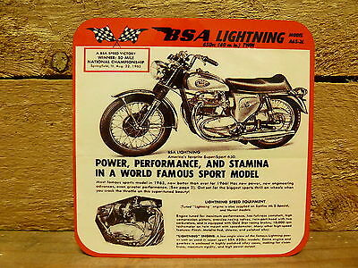 Drink Coaster Set Of 4  - Bsa Lightning Motorcycle