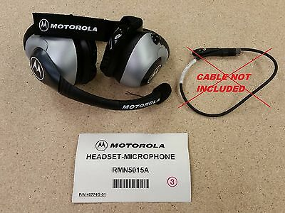 BRAND NEW Motorola 2-Pin Racing Headset, Partial Kit RMN5015A (P/N 40774G-01)