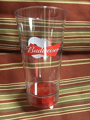 NHL Calgary Flames (Budweiser Collectible Red Light Goal Glass)
