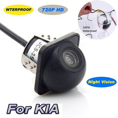 Waterproof Camera 720P HD CCD NTSC Night Full Vision Reverse Back Up For Car Kia